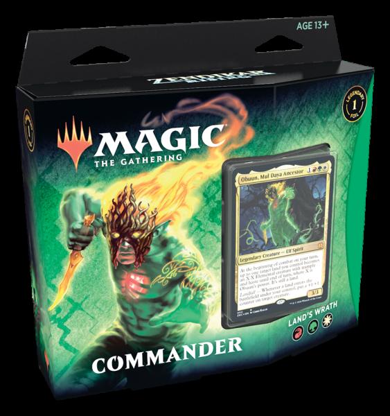 Zendikar Rising - Commander - Land´s Wrath (ENG)