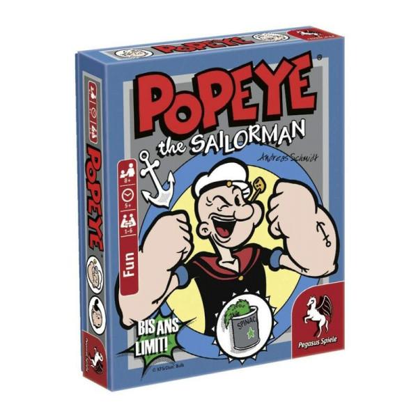Popeye the Sailorman: Bis ans Limit! (Bierdeckelspiel)