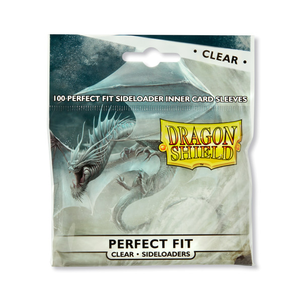 Dragon Shield: Perfect Fit Inner Sleeves Sideloader - Clear (100)