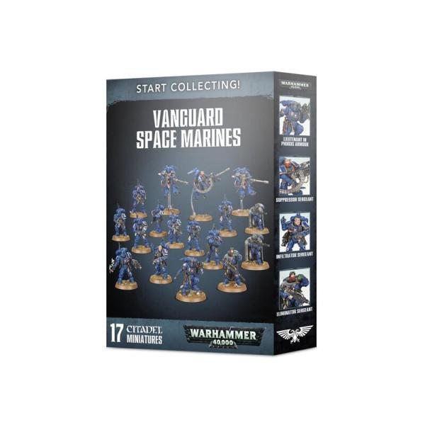 START COLLECTING! VANGUARD SPACE MARINES (70-42)