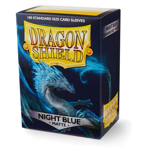Dragon Shield: Matte Night Blue (100)