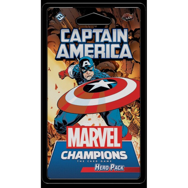 Marvel Champions The Card Game: Captain America - EN