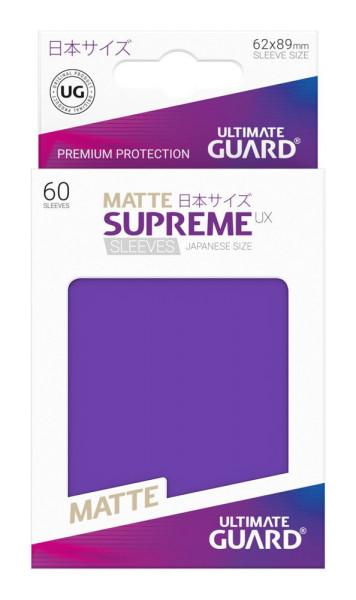 Supreme UX Sleeves Japanische Größe Matte Purple (60)