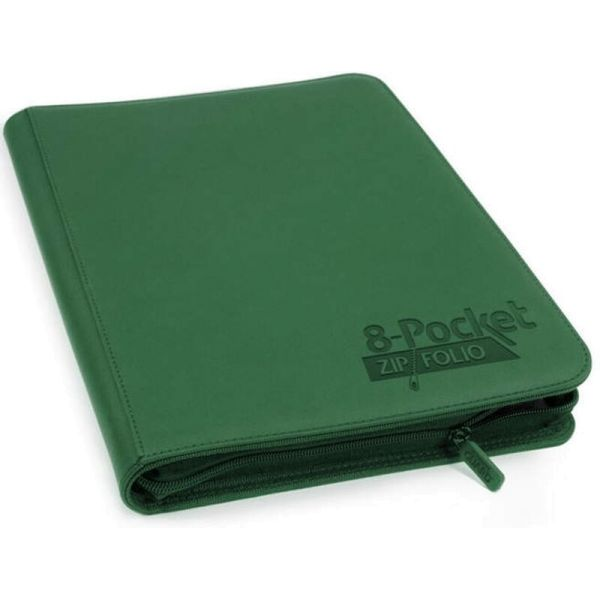 8-Pocket ZipFolio XenoSkin™ Grün