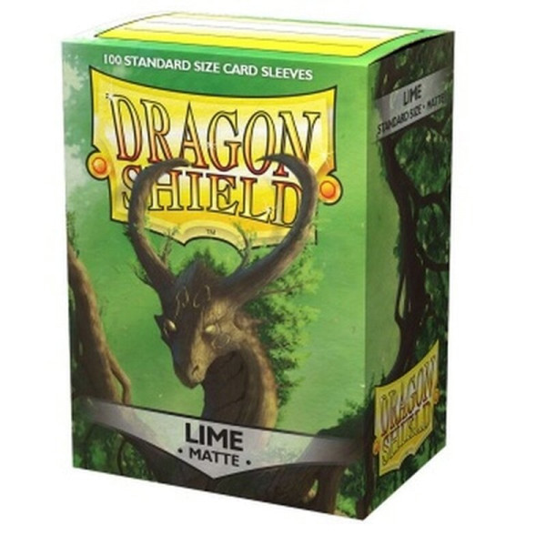 Dragon Shield: Matte Lime (100)