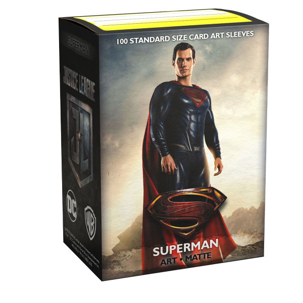 Dragon Shield: Matte Art Justice League Superman (100)