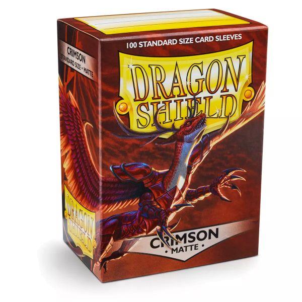 Dragon Shield: Matte Crimson (100)