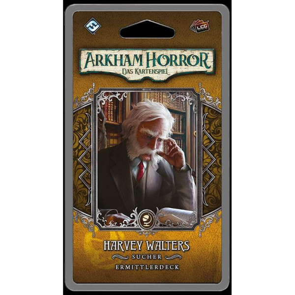Arkham Horror: LCG - Harvey Walters Ermittlerdeck