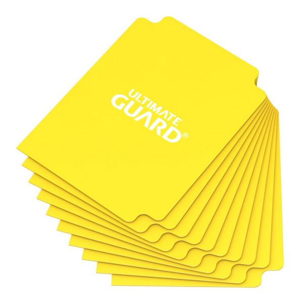 Card Dividers Standard Size Yellow