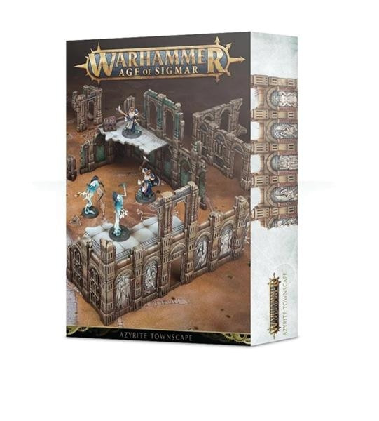 AGE OF SIGMAR: AZYRITE TOWNSCAPE (64-75)