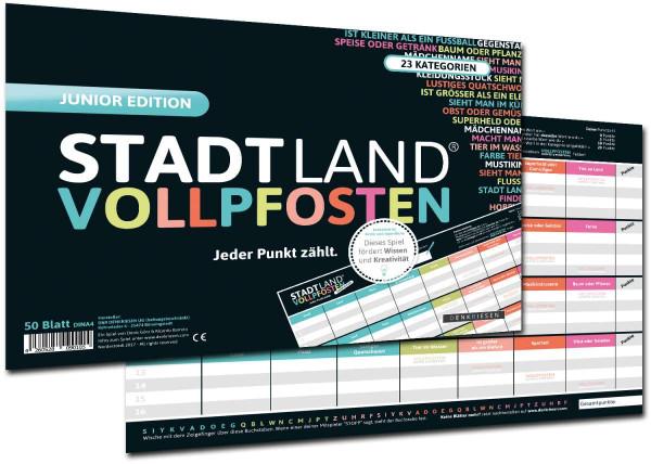 STADT LAND VOLLPFOSTEN JUNIOR EDITION (DIN-A4-Format)
