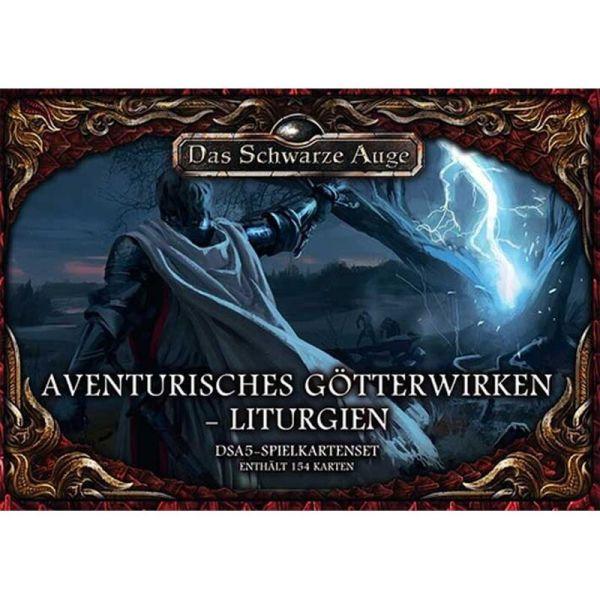 DSA5 Spielkartenset Avenurisches Götterwirken Liturgien